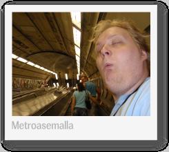 Lontoo 2009: Metroasemalla (pikkukuva)