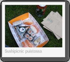 Lontoo 2009: Sushipicnic (pikkukuva)