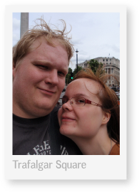 Lontoo 2009: Trafalgar Square (pikkukuva)